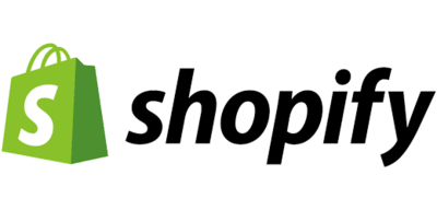 Logotyp for Shopify